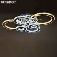 Clear LED Ring Light Fixture LED Chandelier Lustre Lighting ...