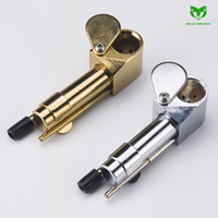 Brass Smoking Proto Pipe Specialty Pipe Metal Portable Tobac...