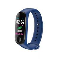 M3 زائد الذكية سوار معدل ضربات القلب وضغط الدم الهاتف SMS متعدد الرياضة الوضع الطقس التلقائي مشرق شاشة مي النطاق 3 الأساور