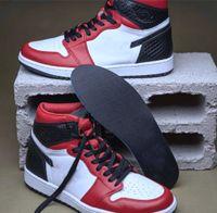 2020 Release Otantik 1 Yüksek OG WMNS Saten Snake 1s CD0461-601 Gym Kırmızı Beyaz-Siyah Basketbol ayakkabıları Mens Sneakers ile Orijinal Kutusu