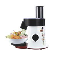 Robot culinaire légumes Cutter ronde électrique Slicer Grater pommes de terre carotte Shredder Slicer hachoir à légumes pour la cuisine