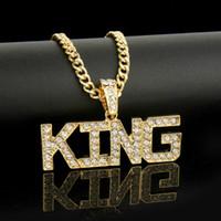 Modetrend 14K Gold der Männer Cuban Curb Gliederkette KING Halskette niedliche Haustier Halskette HIPHOP Mithelfer