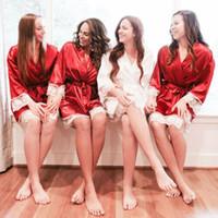 Haute Qualité 2019 été New Hot vente style sexy lingerie robe de soie Robe Pyjama femmes Chemise de nuit Chemise de nuit vêtements de nuit
