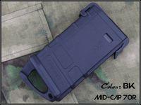 Tactical PMAG AEG MAG fit 70 M 라운드 숏 타입 MEG / M16 AEG 나일론 모델 M4 / M16