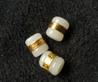 Oro Giada e Tian Yu Strada strada del passo perle trasferimento bianco giada ciondolo perline sparse fai da te f8 trasporto libero