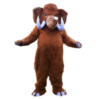 2018 New high quality Mammoth Elephant Mascot costumes for a...