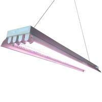T8 HO fluorescente LED crecer lámpara 4FT 4-lámpara crecer luz Kit fluorescente Ho bombillas interior jardinería T8 crecer luces Accesorios