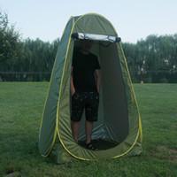 3 colori Tenda per adulti Caldo Ispessimento Spogliatoio Tenda da bagno Tenda da campeggio per picnic Portatile da esterno Mobile semplice Tenda per la privacy DS0541 CY
