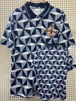الرجعية الكلاسيكية 1990 1991 1992 أيرلندا الشمالية لكرة القدم الفانيلة 90/92 المنزل الرجعية لكرة القدم قميص S-2XL