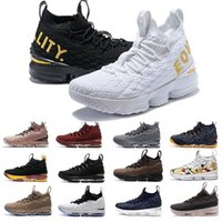 Nouveau 15 15s Ashes Esprit Floral Hommes Basketball Chaussures Noir Blanc Jaune Mode respirant Sport EP Formation Sneakers Taille 40-46