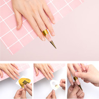 Dmoley 10/20/30/40 pz Nail Forms Professional Acrylic Curve Nails Gel Extension Sticker Nail Art Forma acrilica