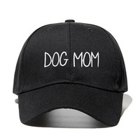 2019 new DOG MOM Embroidered Adjustable golf Cap cotton adju...