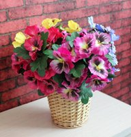 Silk flowers for wedding artificial flower wedding bouquet V...