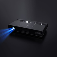 New arrival Mini Projector H96 max android 6. 0 media player ...