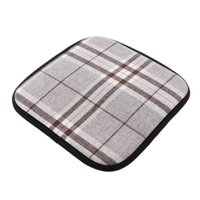Linen Cotton Office Home Chair Cushion Dining Chair Pads Square Shape 40x40cm