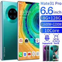 Globale Version Android Smartphone 6.6inch Handy Dual-SIM-Mobiltelefon 4G 3G Handy Handy Smart-Phone Face Unlock Zellen