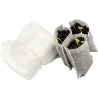 Mudas crescem sacos de tecido não tecido vasos de jardim potes fibra vegetal viveiro de mudas levantando titular plantas saco