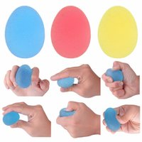 Silicone Egg Massage Hand Expander Gripper Strengths Stress ...