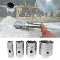 30/40 / 50 / 65mm SDS Beton Çimento Taş Duvar Delik Saw S18 Bırak Gemi Testere