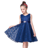 2019 vestido de verão flor v-garganta crianças vestidos para meninas concurso formal noite princesa vestido menina festa vestido de casamento 10 12 ano