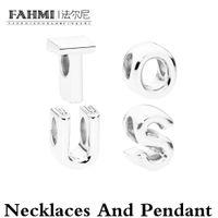 Fahmi Nuovo prodotto Collana Argento 925 argento retro monili di modo donna di disegno naturale agata nera classica del pendente dell'orso