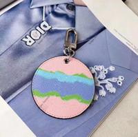 Moda chiave Buckle borsa design semplice Tie-dye modo di stile ciondolo catene chiave Buckle 2 colori di alta qualità con la scatola opzionale spedizione gratuita