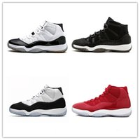 NIKE Air Jordan 11 Retro 2018 Cheap Nuova 11 11s Space Jam 45 uomini Basketball scarpe di alta qualità 11 Spazio Jams 45 Sneakers donne con il pattino CB28
