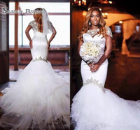 2019 New African Nigeria Traditional Wedding Dresses Crystal...