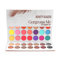 Wholesale Free Shipping Beauty Glazed 63Color Eyeshadow Pale...