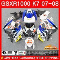 Körper für Suzuki Pephephone Stock GSXR-1000 GSX-R1000 GSXR1000 07 08 BODYWORK 12HC.40 GSX R1000 07 08 K7 GSXR 1000 2007 2008 Full Fouring Kit