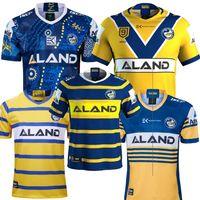 2019 2020 Parramatta Eels camisa Jersey Casa Fora Rugby Jersey Parramatta Eels Indígena jerseys liga Austrália NRL Rugby 2020 size: s-3xl