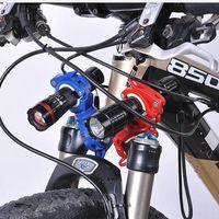 Neue Upgrade-Bike-Halterung Flash-Fackel-Halter Frontleuchte Mountainbike Reitausrüstung Fahrradzubehör