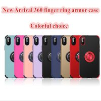 360 ring magnetic phone holder case for iphone 6 7 8 plus de...