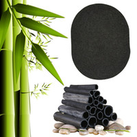 1 PC de Carvão De Bambu Macio Lavar o Rosto de Limpeza Profunda Puff Maquiagem Fundação Fundação Pro Maquiagem Ferramentas RRA1774