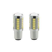 1156 BAU15S PY21W 7507 светодиодные лампы для автомобилей поворотники Янтарный / оранжевый освещение белый красный синий 5630 33SMD желтый white1P