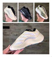 Infant Kanye 700 V2 V3 V3 Glow Azael Baskets Lifestyle Sneakers Alvah Garçons Filles Coureurs Toddler Statique Inertia Mauve Kids Running Shoes