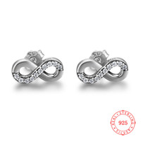2018 Charm 925 Sterling Silver Stud Earrings Oxidized Circle...