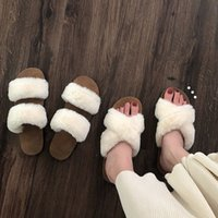 Mazefeng 2020 New Fashion Women Home Slippers Faux Fur Ladie...