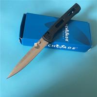 Theone BM 417/55 440C Katlanır Bıçak Bıçak Naylon Cam Elyaf Kolu Bakır Yıkama Açık Benchmade 417 Cep EDC Bıçaklar BM51