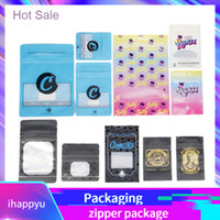 Holographic Cali Plug Carts Box Zipper Bags Cookies Connecte...