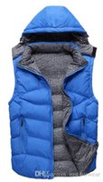 Mens Casual White Duck Down Vest Thick Coat Women Autumn Win...