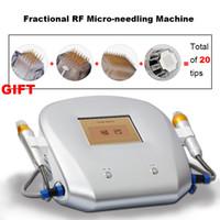 كسور RF آلة microneedle الجلد تجديد الجلد mico إبرة الوجه العناية حب الشباب ندبة تمتد علامة إزالة العلاج