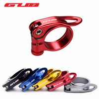 GUB Fahrradsattelstütze aus Aluminium Ultraschnellspanner Rennrad MTB Gebirgsfahrrad-Sattelstütze Sattleklemme 31.8mm 34.9mm