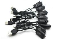 Ego cargador USB Cargadores E Cigarette para el ego T Evod ego-C Giro Visión Spinner O Pen batería Esmart 510 Hilo largo del cable del cargador