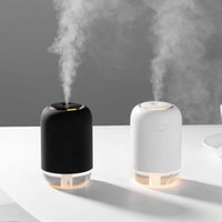 200ML humidificador de aire del aroma difusor de aceites esenciales para el hogar del coche del USB Fogger fabricante de la niebla LED de la noche del regalo de la lámpara Auto Accesorios para el hogar