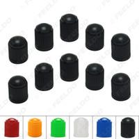 10pcs/lot Universal 6-Color Plastic Car Valve Caps Bicycle Motorcycle Wheel Tyre Air Valve Stem Caps#3875