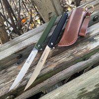 조각 칼에게 자기 방어 포켓 도구를 접는 새로운 도착 원래 매직 펜 나이프 나일론 섬유 핸들 베어링