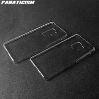 Caso da tampa Matte Glossy dura do PC plástico telefone para Samsung S10 5G S9 S8 Além disso S7 S6 Nota 10 9 8 J4 J6