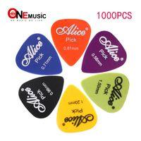 1000pcs / lot Alice Gitarre Picks AP-600P ABS PlecteRum Standardgröße Multi Dicke Gitarrenteile