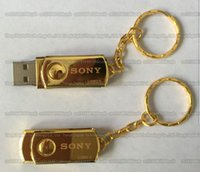 16GB 32GB 64GB 128GB 256GB High quality SONY gold Metal rota...